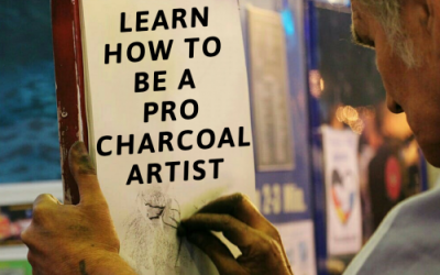 How to Be A Pro Charcoal Artist