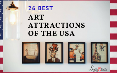 26  best artistic spots to explore in the USA (for art lovers)