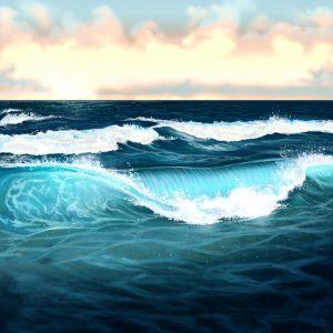 Sea Water Waves