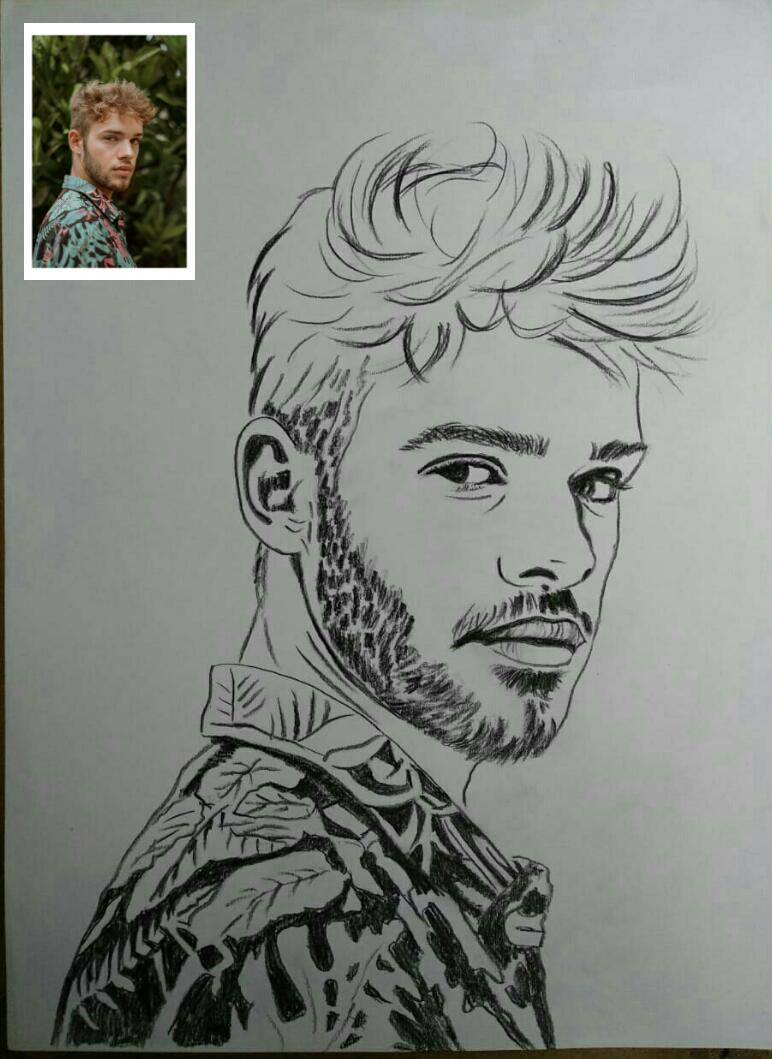 Line Art Drawing From Photo