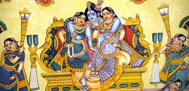 Mysore Painting(types of paintings)