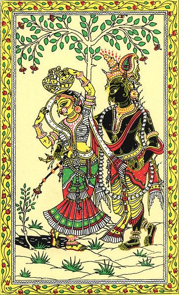 Patachitra Paintings Style