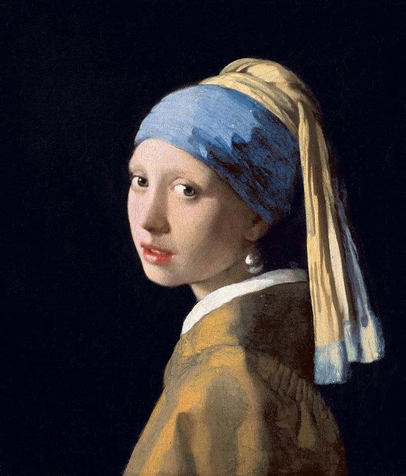 Girl with a Pearl Earring The famous painting