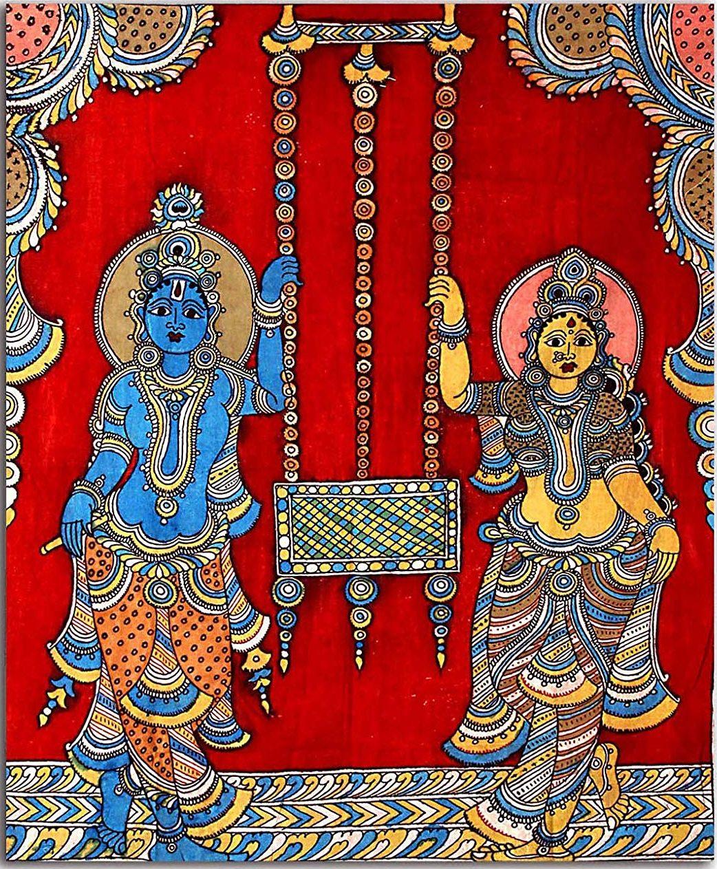 Kalamkari Painting Technique