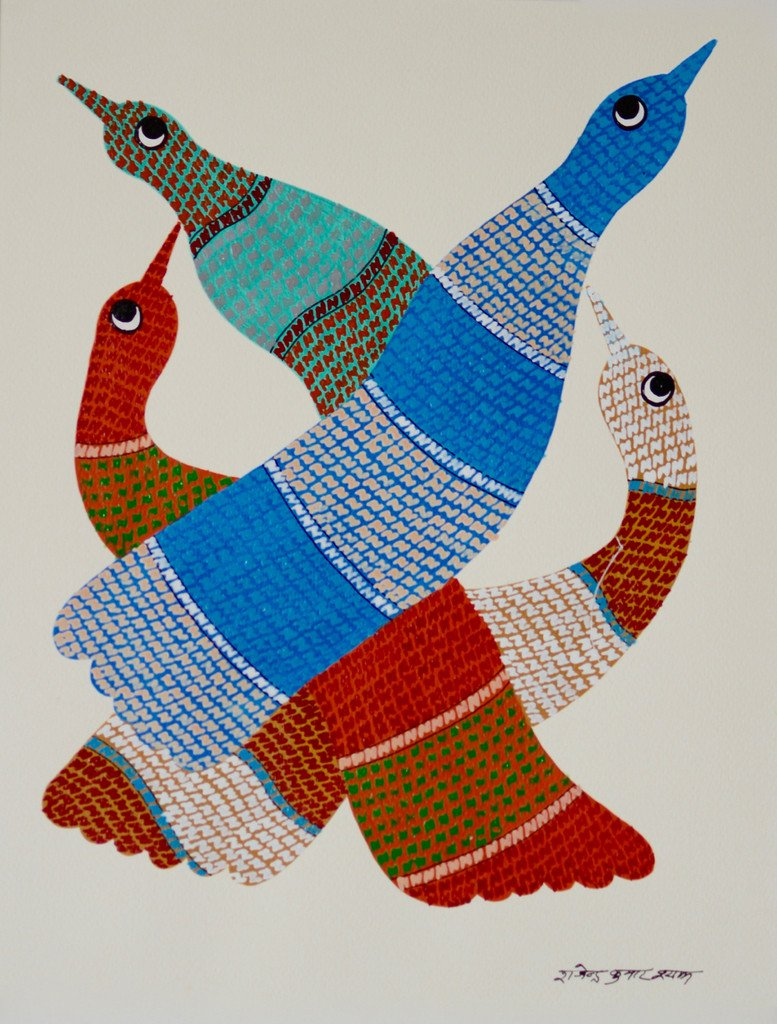 Gond Paintings Style