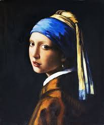 A girl with the pearl earring