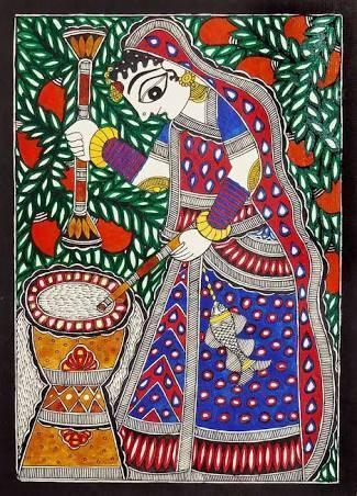 Madhubani Painting Style