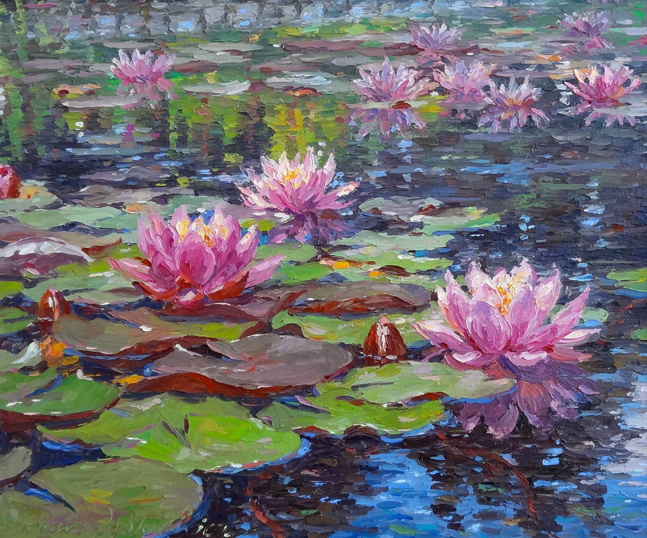 The Lillies The famous painting