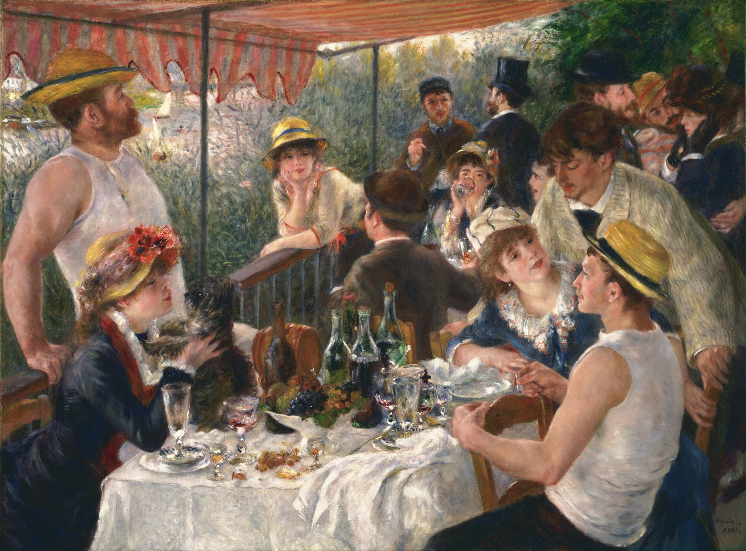 Luncheon on the Boating Party