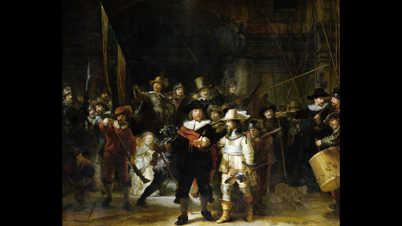 Night Watch The famous painting