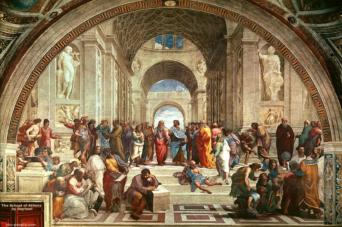 School of Athens The famous painting