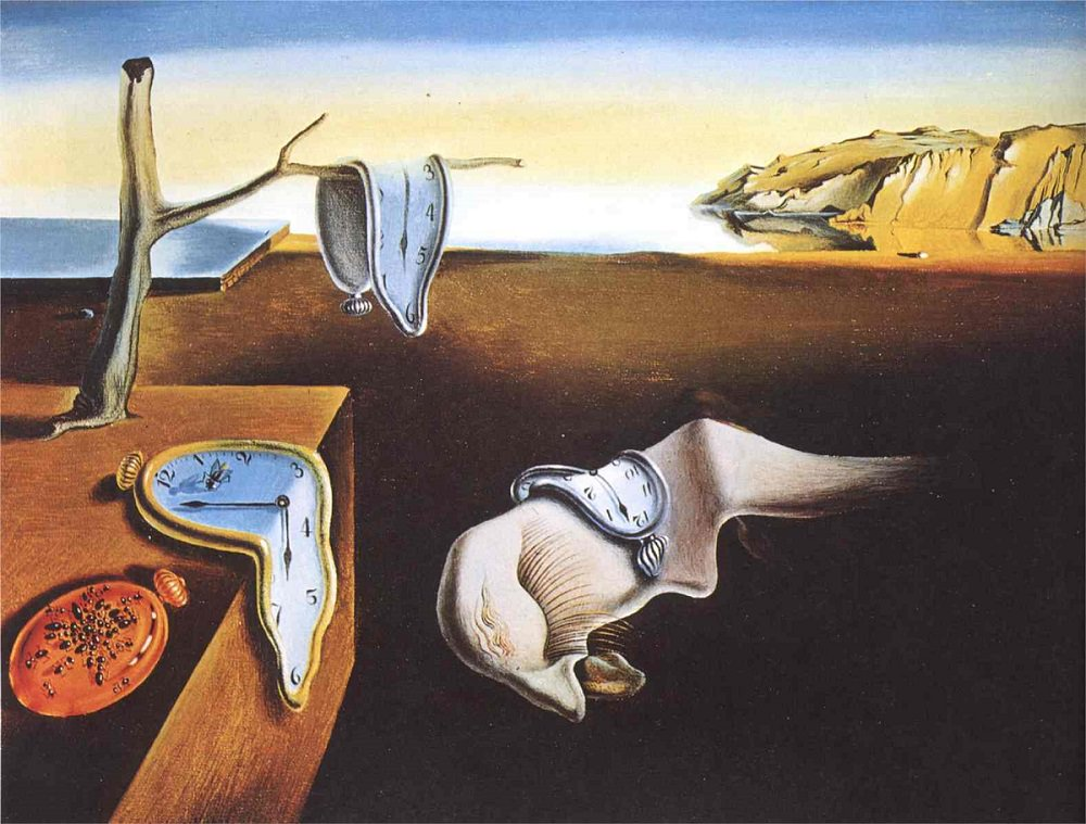 The Persistence of Memory the famous painting