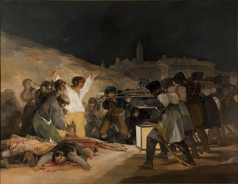 The Third of May a famous painting