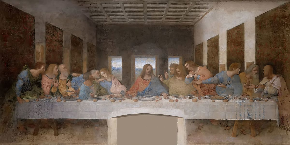 The_Last_Supper The famous painting