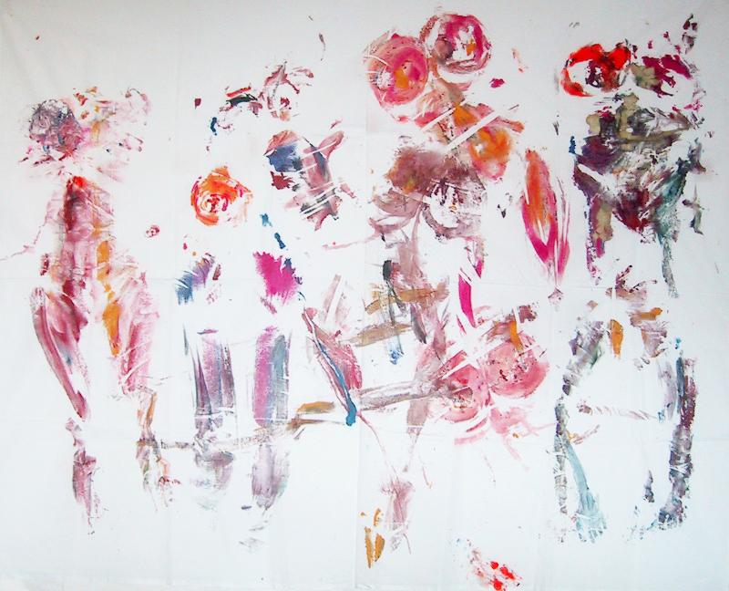 Body printing Painting
