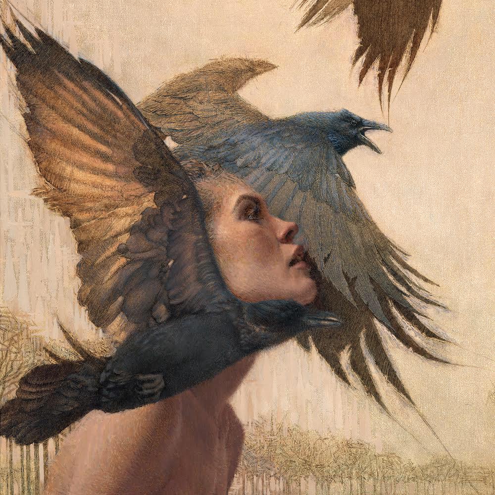 The lady with the birds by Daniel Bilmes