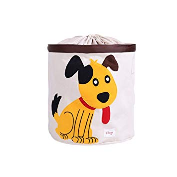 Cute Dog picture laundry bag