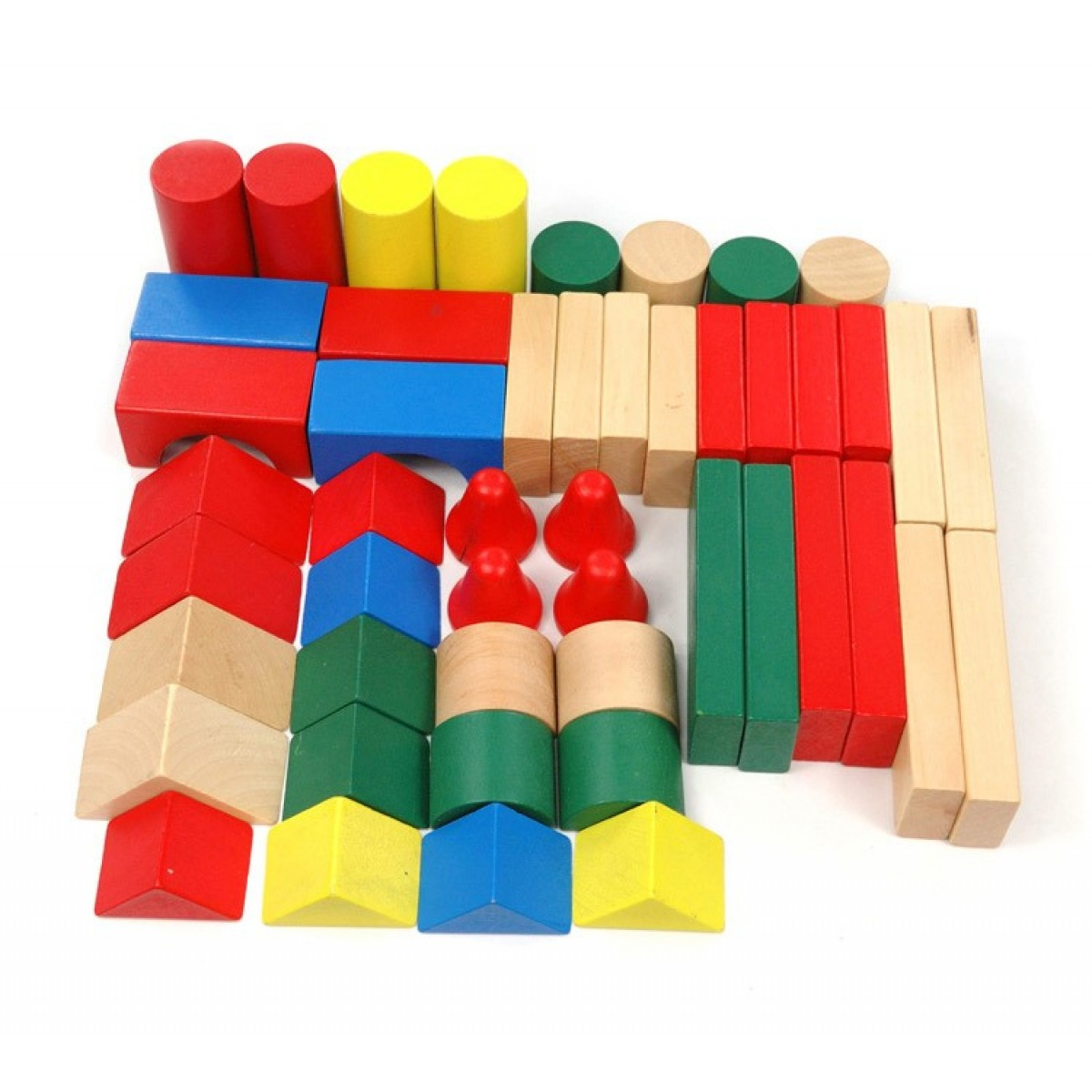 Colored blocks as baby's first birthday gift ideas