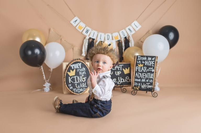 baby portrait form photo