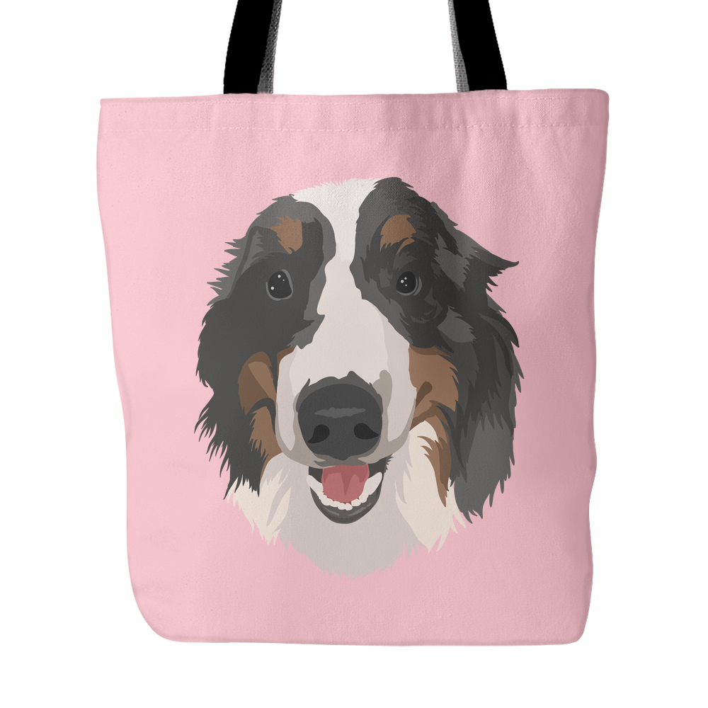 Dog Painted Totes