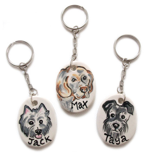 Pet Key chains as pet loss gift
