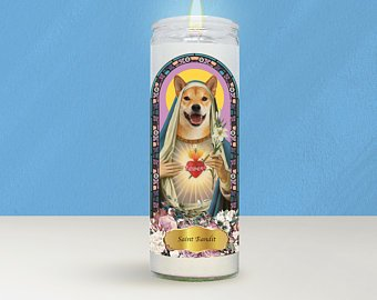 Pet Customized Candles