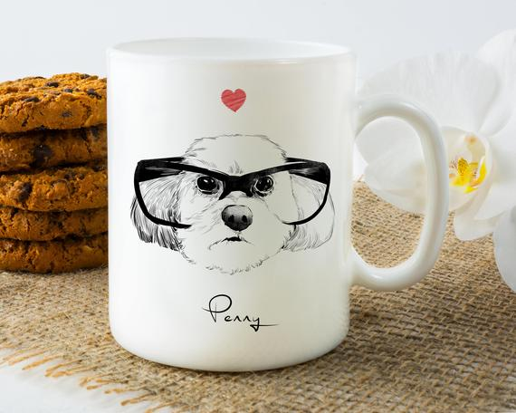 Pet Memorial Coffee Mugs as pet loss gift