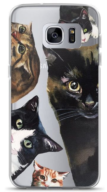 Smartphone Coveras Christmas gift for cat lovers
