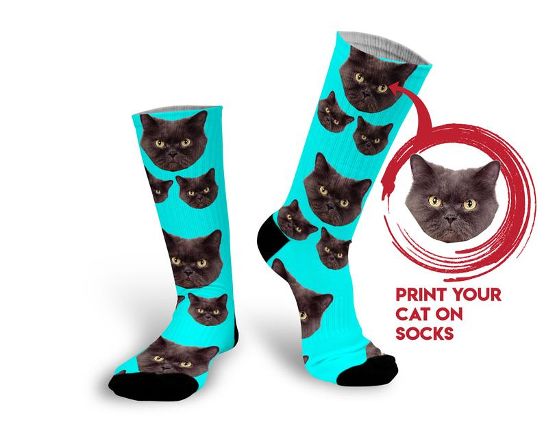 Interesting Socks as chriostmas gifts for cat lovers