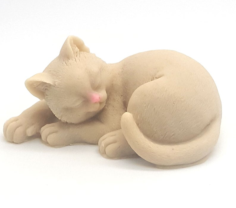 Cat Shaped Soap