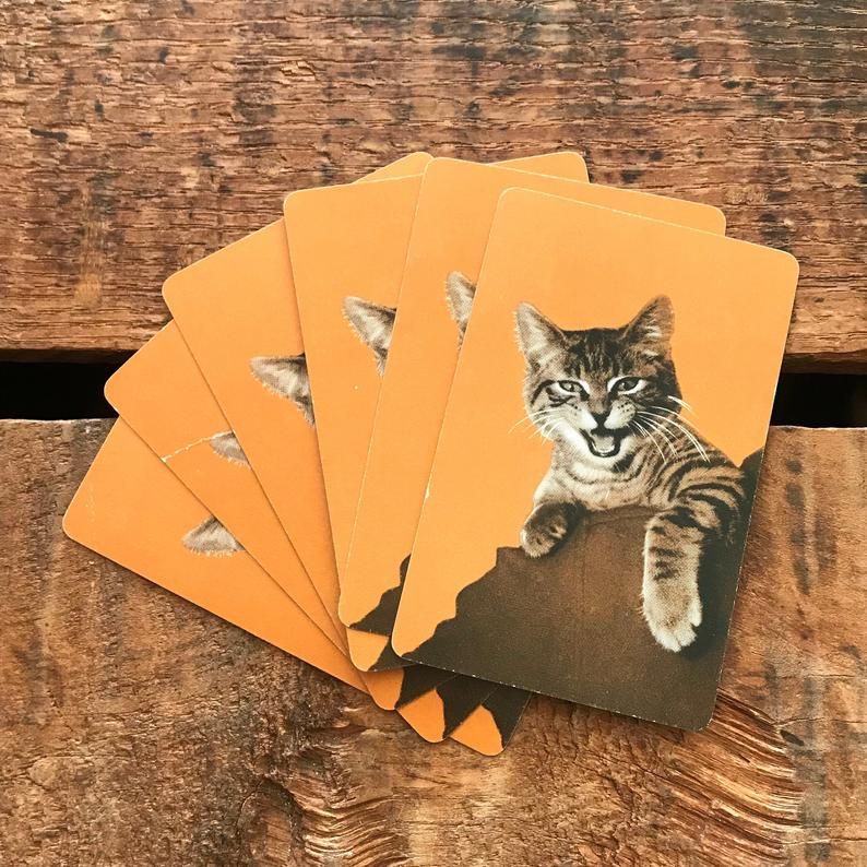 Playing Cards as christmas gift for cat lovers