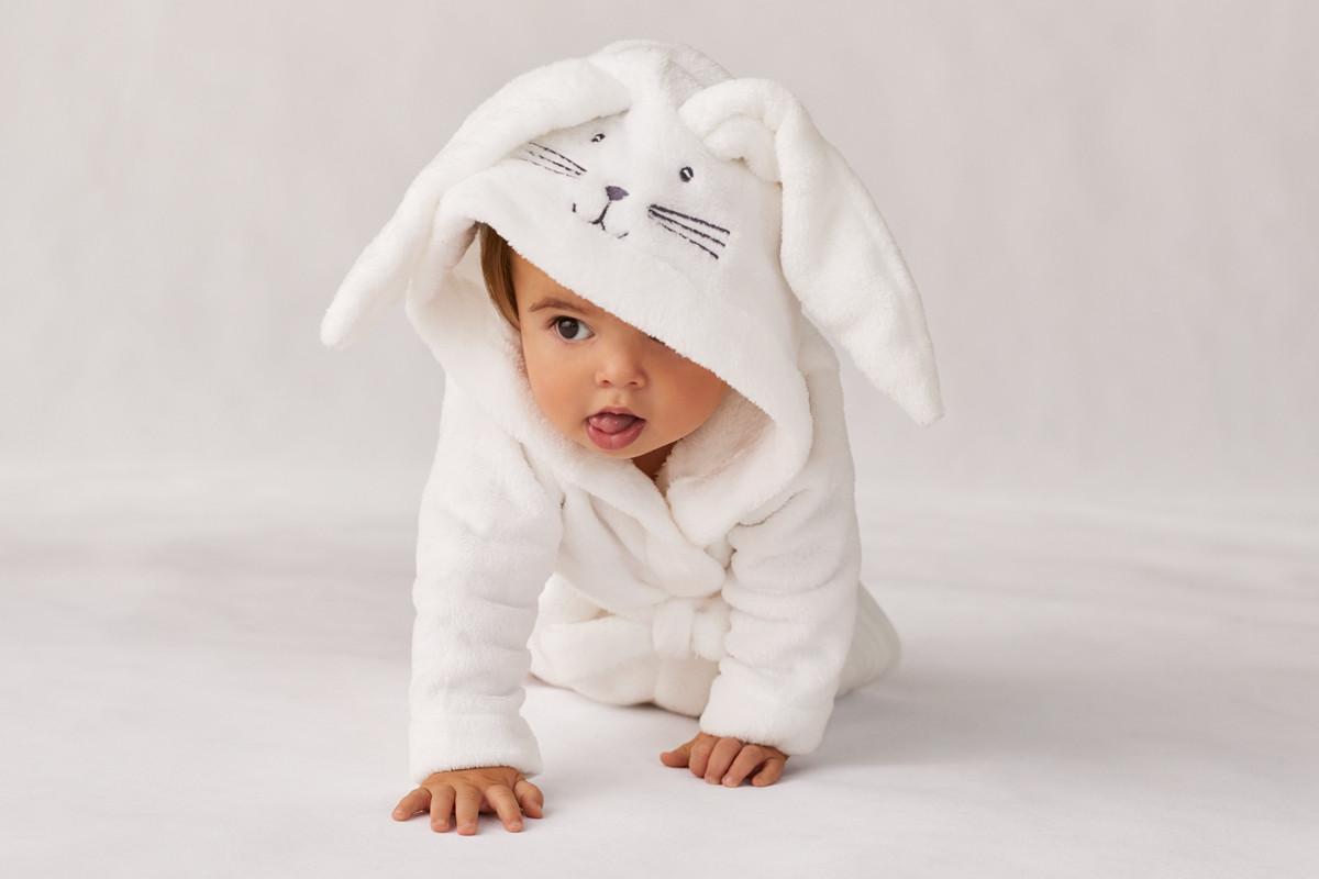 Baby Bathrobe as baby's first birthday gift ideas