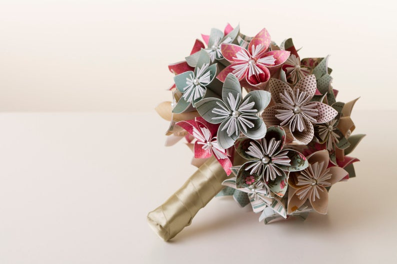 Origami Bouquet Birthday gift for her