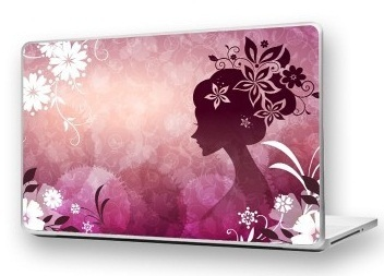 Laptop covers and Plates birthday gift for her