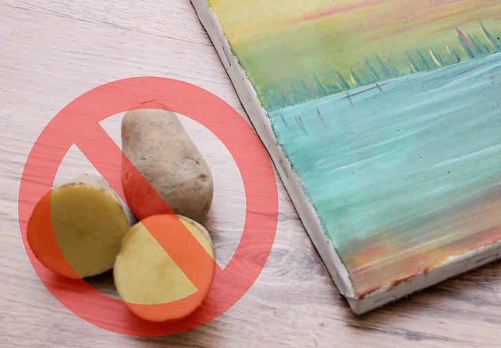 Don't Use Potato or Vinegar