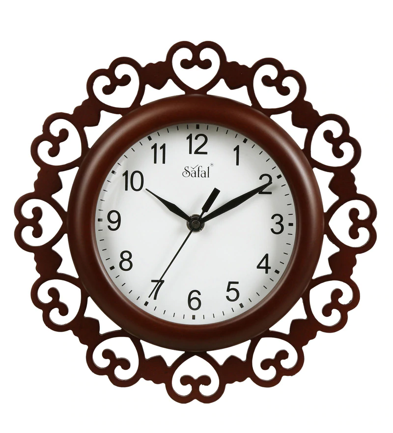 A wall clock as birthday gift for her