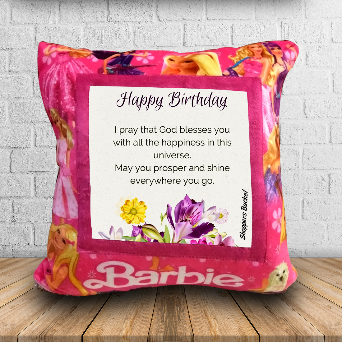 Customized pillows as birthday gift for her