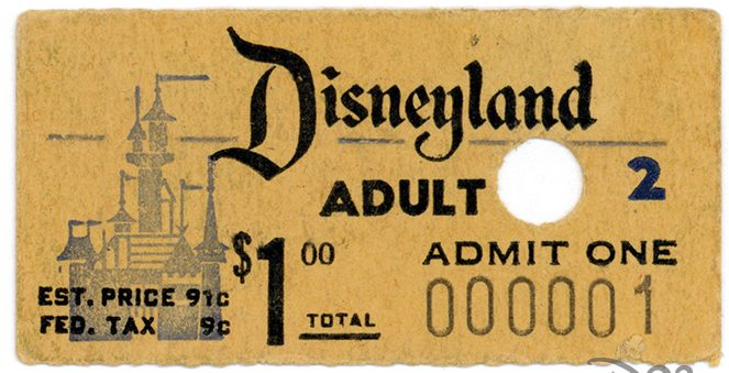 A Ticket to Disneyland
