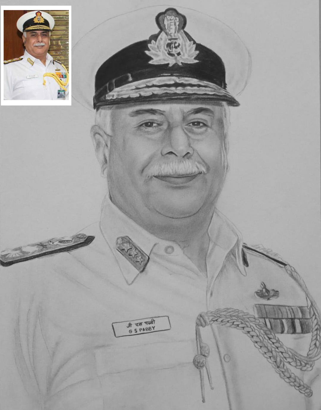 A Stunning Charcoal Sketch