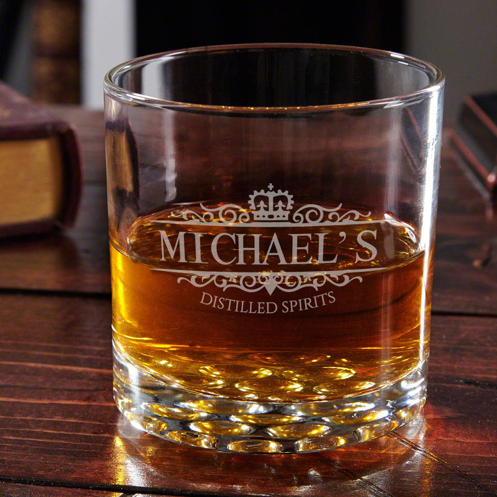 Customized Whiskey Glasses