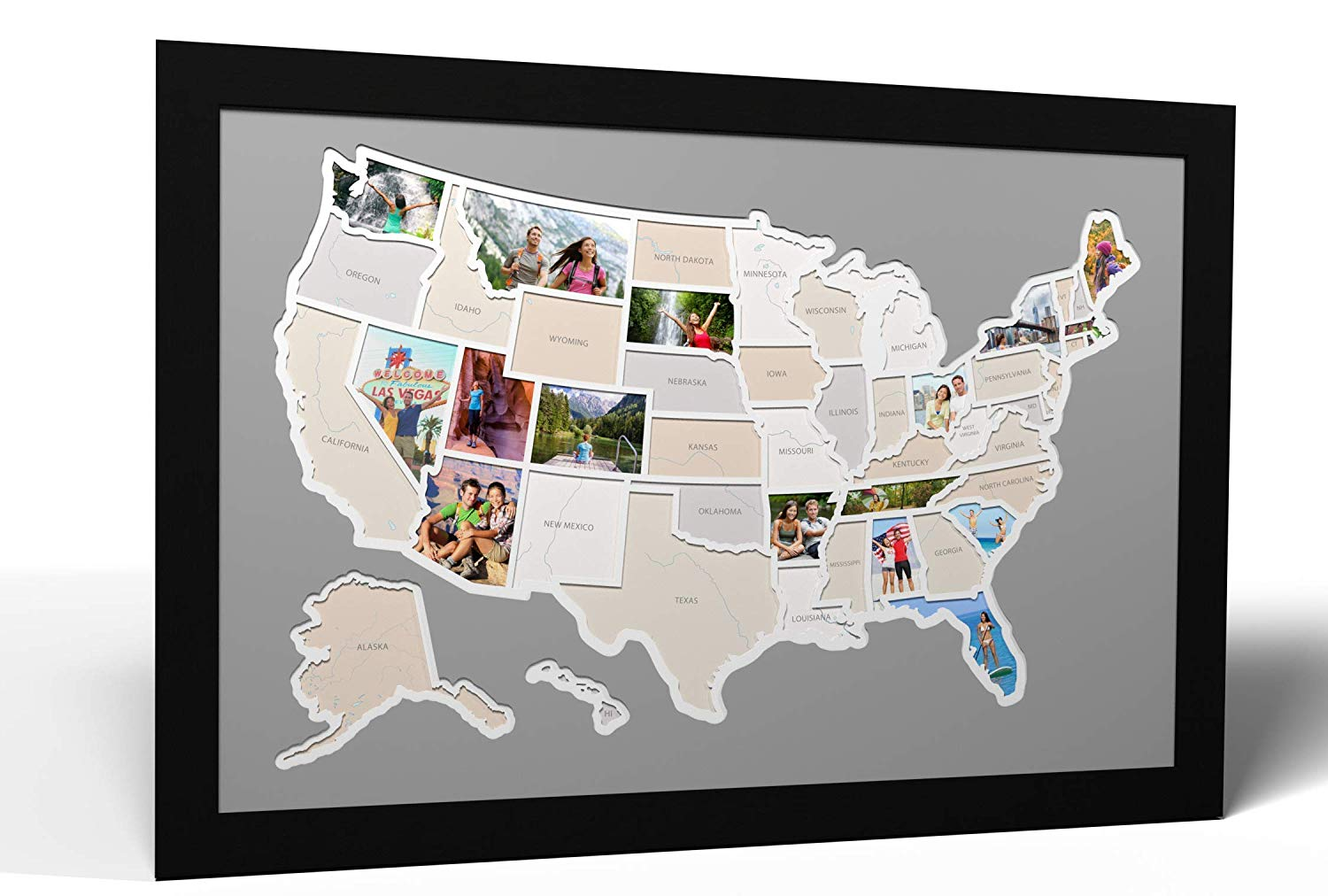 Picture Map of America