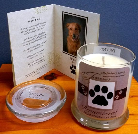 Pet Customized Candles