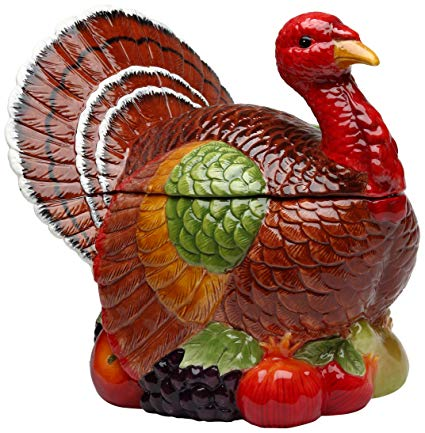Thanksgiving Cookie Jar