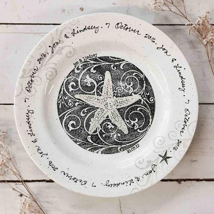 Personalized Crockery Set as housewarming gift