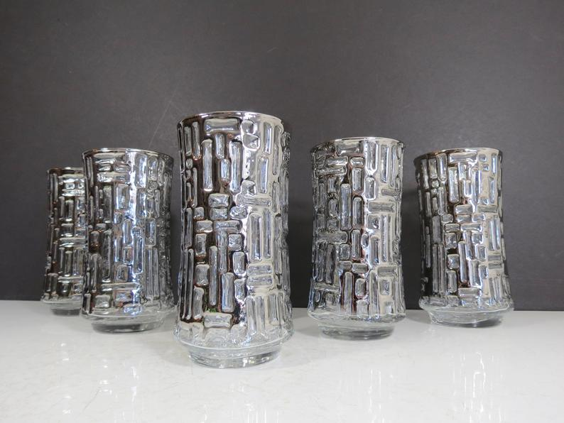 Silver Glass Set as housewarming gift