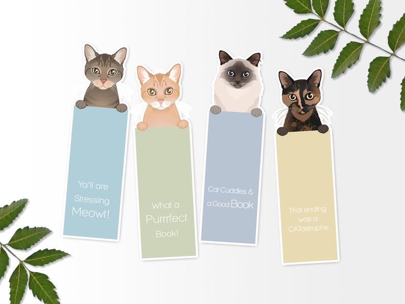 Pet Memorial Bookmarks (Pet loss Gift)