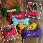 Squeaky Toys as dogs first birthday gift