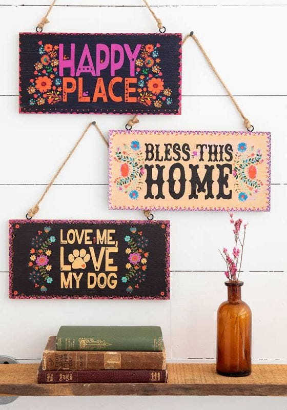 Personalized Wooden Hangings