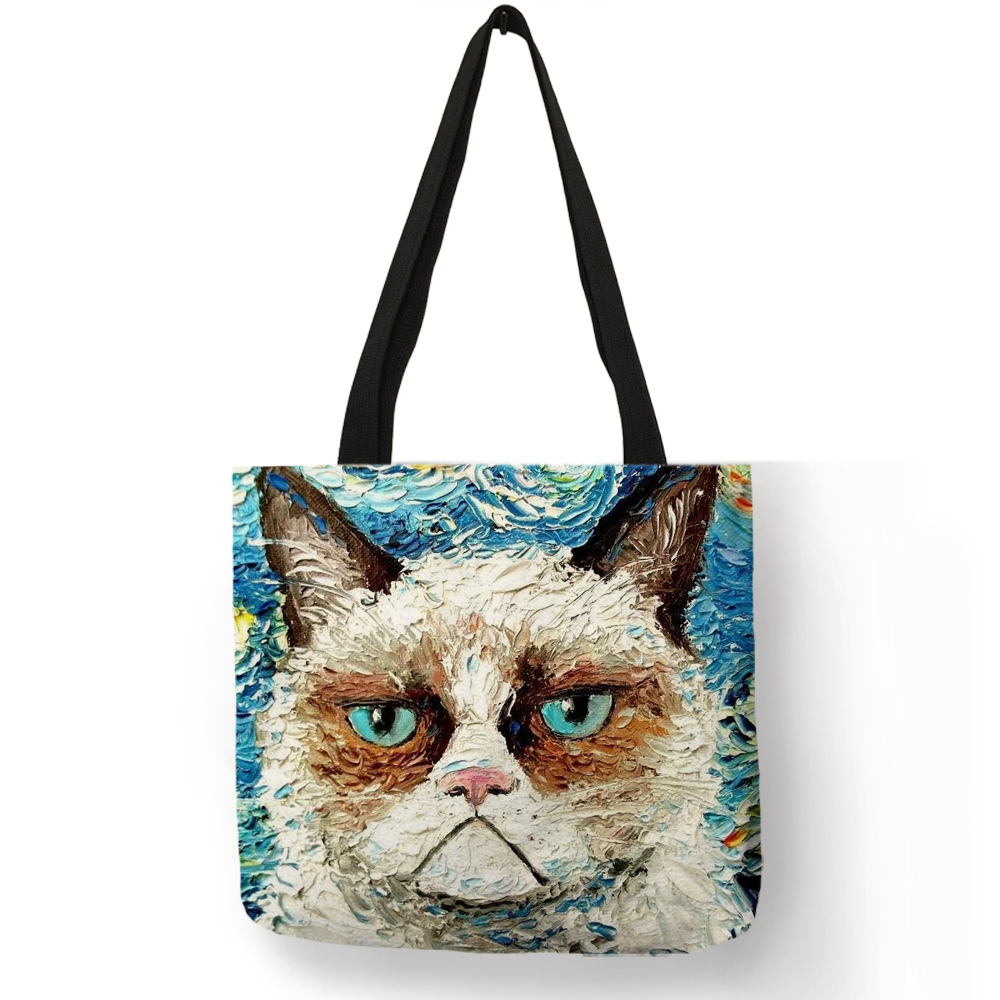 Tote for Your Cat's Stuff
