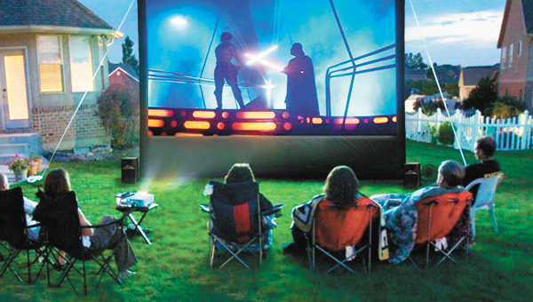 Outdoor Movie  (Memorial Day)